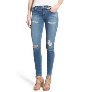 AGOLDE Sophie high rise skinny crop ankle jeans 25